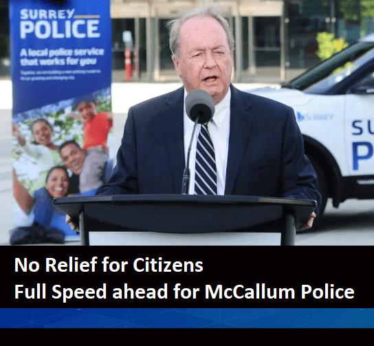 McCallum Budget