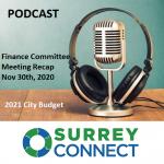 2021 Surrey Budget